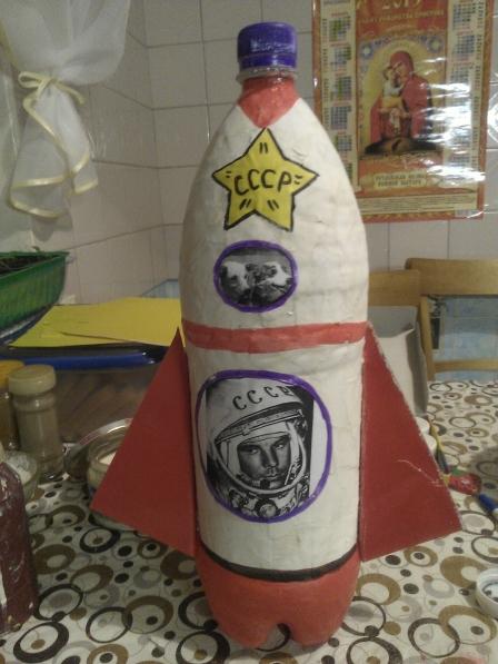 Ракеты из бутылок своими руками
